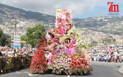 Enjoy the Flower Festival 2019 in Madeira, rent a car in Funchal