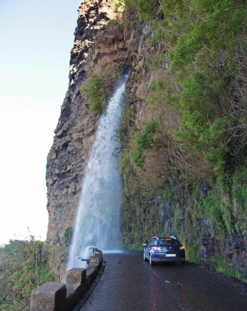 Ponta do Sol Waterfall