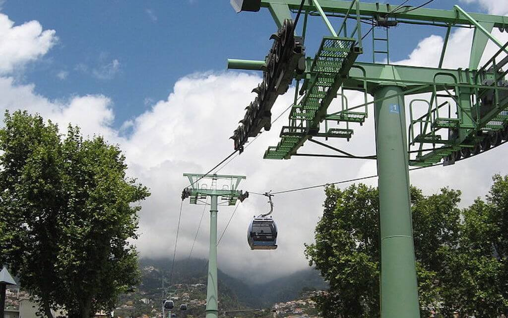 6. Funchal-Monte Cable Car