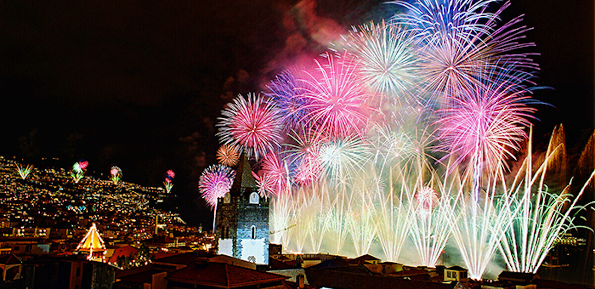 5.New Year's Eve Fireworks Showin Funchal