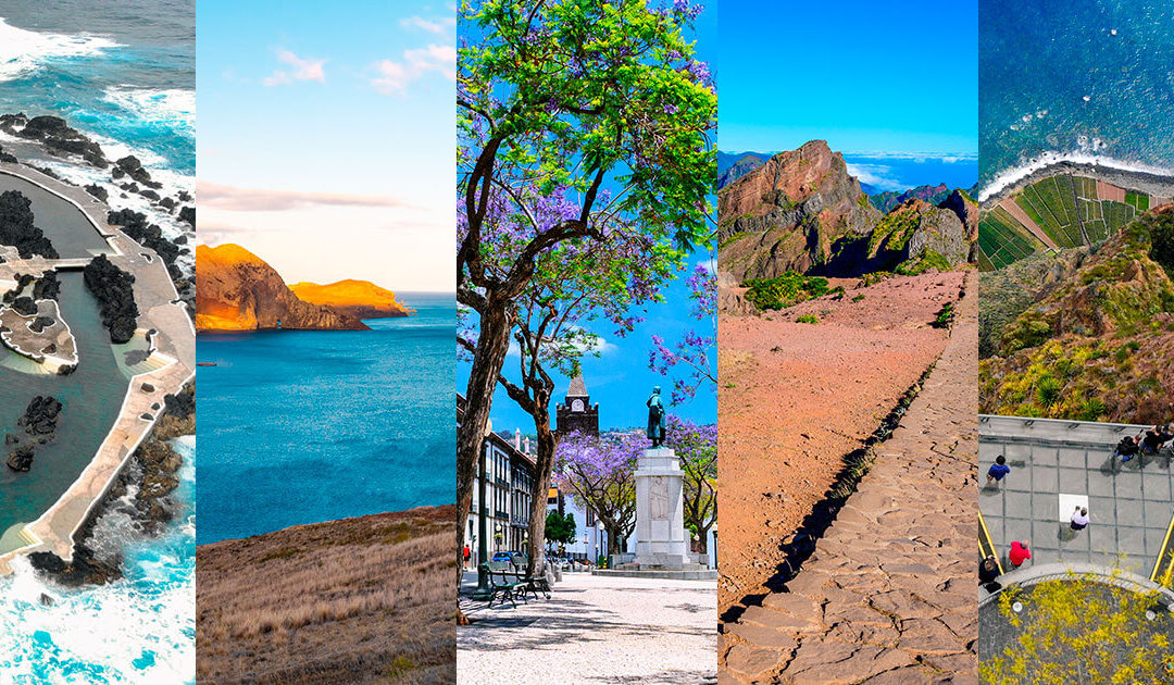 Top 5 Places to Visit in Madeira Island on Summer 2021